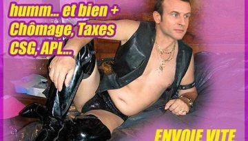 Humour Macron