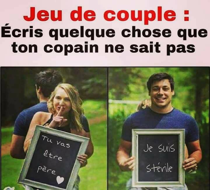 Blague de couple